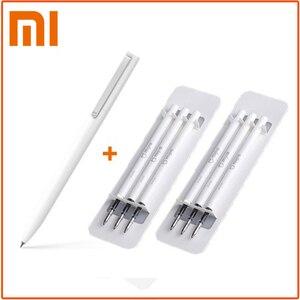 Original Xiaomi Mijia Sign Pens 9.5mm Signing Pens PREMEC Smooth Switzerland Japan Black Ink Refill Durable Signing Mi Pens(China)