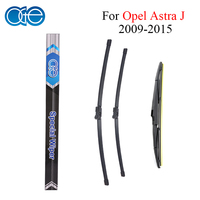 Silicone Rubber Front And Rear Wiper Blade For Opel Astra J 2009 2010 2011 2012 2013