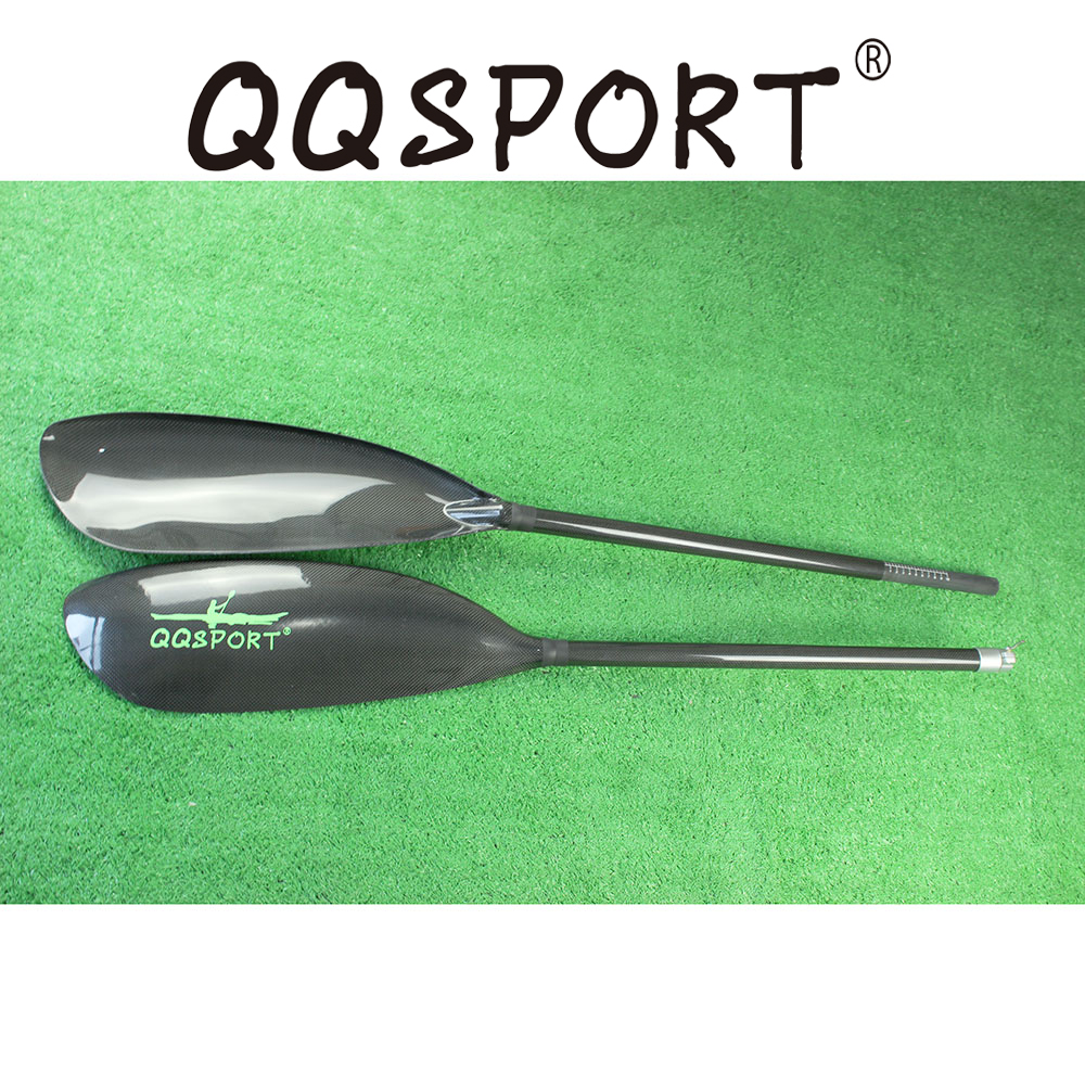 Wholesale High quality Kayak Paddle In IV Wing Blade And Oval Shaft 10cm length adjustment and Free bag-Q03