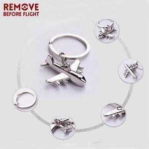 Металлические брелки для ключей, мужские брелки для авиаций, Подарочные, Airworthy, творческие брелки для ключей, модные украшения, 10 шт./лот, опт