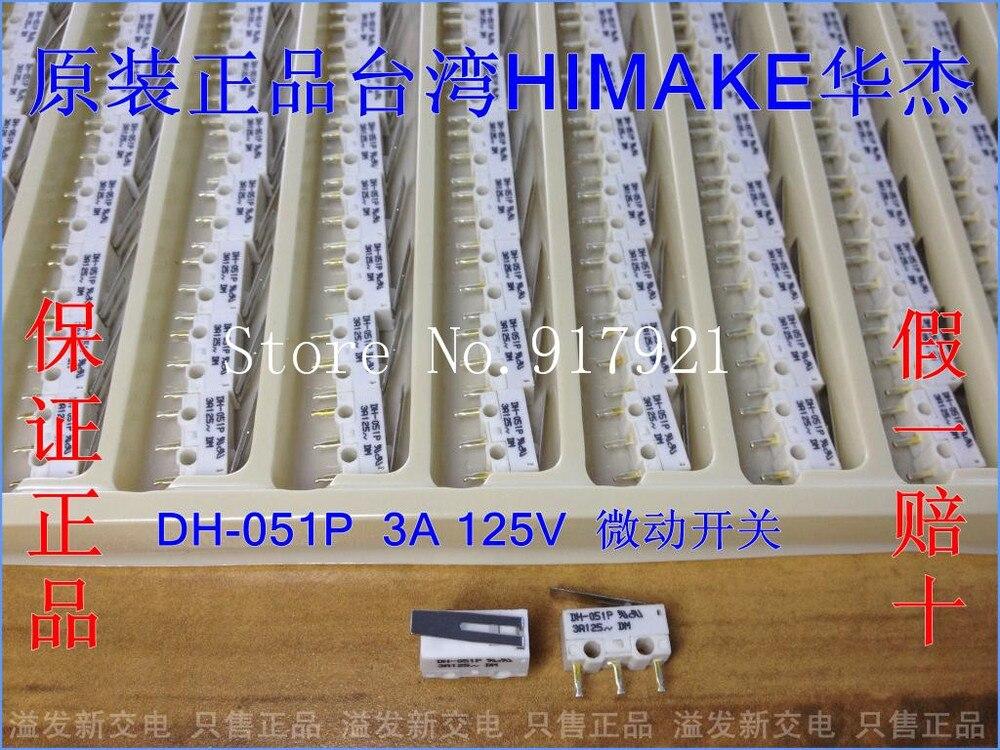 Оригинальный аутентичный тайваньский концевой выключатель мыши Huajia HIMAKE 3A125V 100 шт./лот [ZOB]