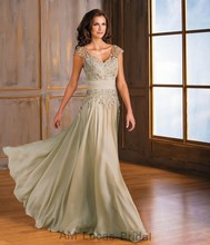 2016 spitze Mutter der Braut Kleider Für Abendgesellschaft Kleider Frauen Formale Kleid Falten Plus Größe Vestido De Madrinha