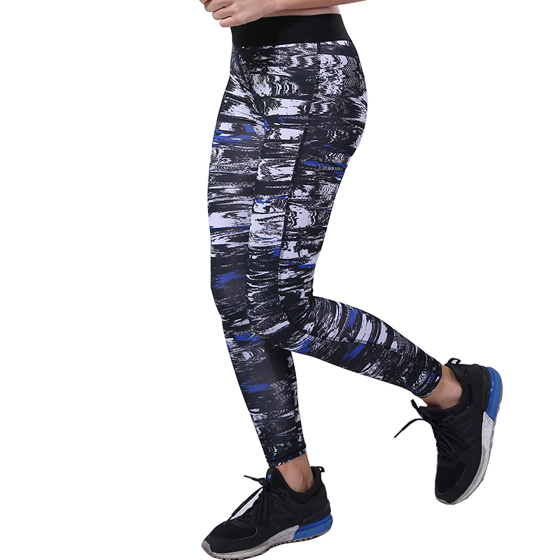 BESGO Sport Pant Running Medium Waistband Back With Small Pocket Full Length Fitness Exercise Pants Sportswear Women For Fitness