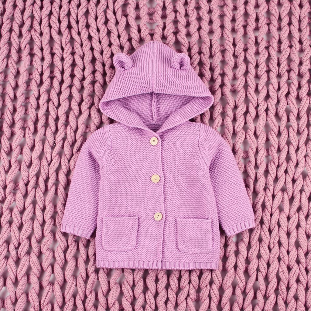 2f40b51d584 Baby Sweaters Clothes Newborn Cartoon Bear Knitted Infant Boys Cardigans  Fashion Spring Toddler Girls Jackets Coats Kids Costume
