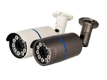 CCTV Bullet Camera 2.8-12mm Lens CMOS 1000TVL Security Camera With OSD Menu Star-light (Default black)