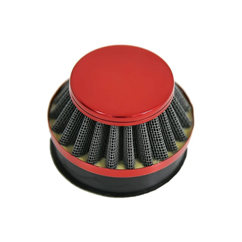 Red 60MM Air Filter For Carb Carburetor 2 Stroke Motorized Bicycle 49cc to 80cc Mushroom Head Air Filter Clamp On Air Filter