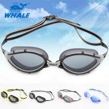 Поляризованный и длительный анти-туман силиконовые очки плавать очки