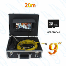WP90A-20M 9inch 20M camering installing sewer lines robotic sewer camera sewer line video inspection