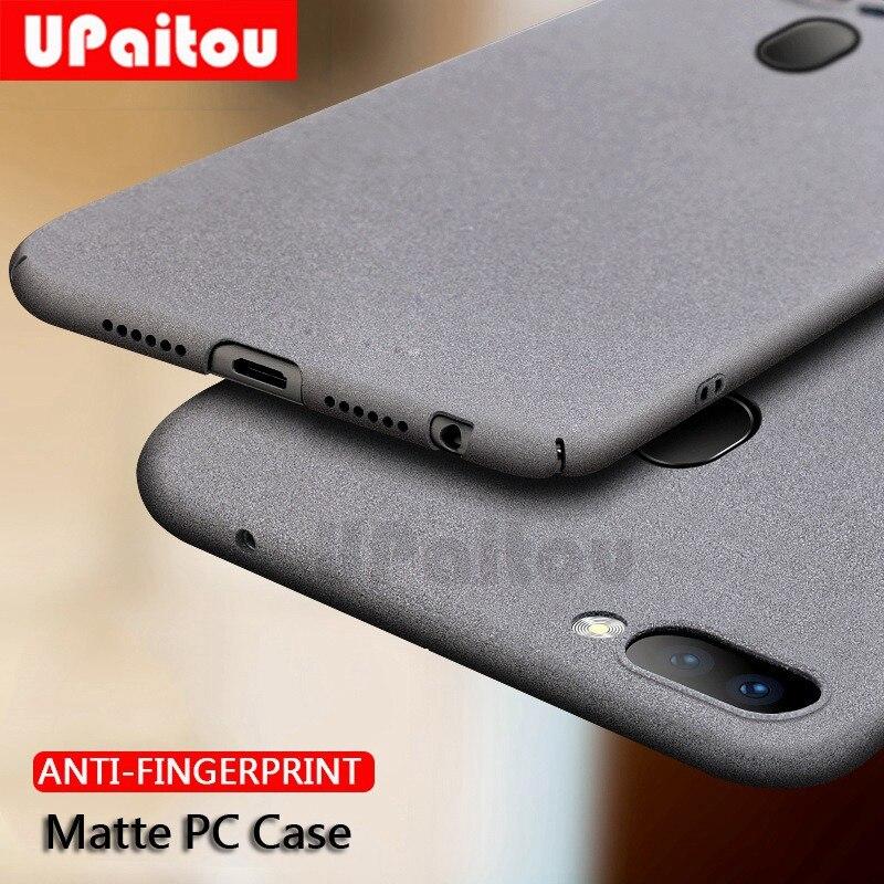 UPaitou Sandstone PC Case for OPPO RX17 Neo R15X K1 R15 R11S Plus Hard Plastic Matte Cases for OPPO R15 Anti Fingerprint Cover