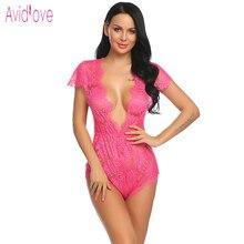 Babydoll Lingerie Teddies Bodysuit Lace Clothes