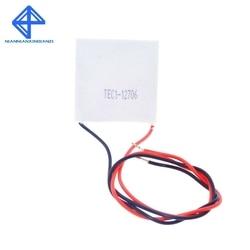 شحن مجاني 1 قطعة TEC1 12706 12V 6A TEC بلتييه مبرد حراري كهربائي (TEC1-12706) إذا كنت تريد نوعية جيدة ، يرجى اختيار لنا