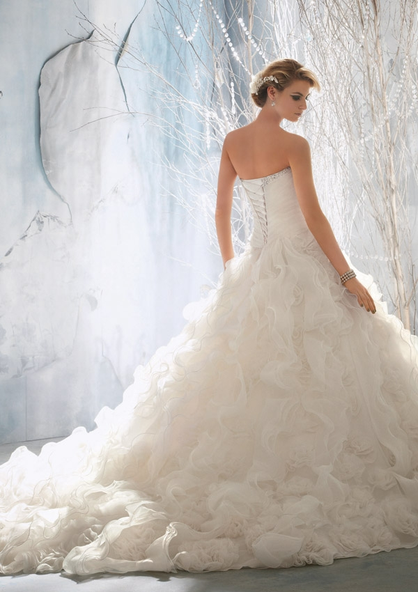Amazing Price Of Mori Lee Bridal Gowns Ornament - Best Evening Gown ...