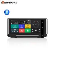 TOPSOURCE Автомобильные видеорегистраторы gps 4 г ADAS 6,86 Android 5,1 автомобиль Камера WI FI 1080 P gps навигации avec enregistreur де voiture de recul изображения