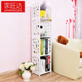 A simple combination of carved wood plastic plate rack shelf Korean  children's table book [SJ001]