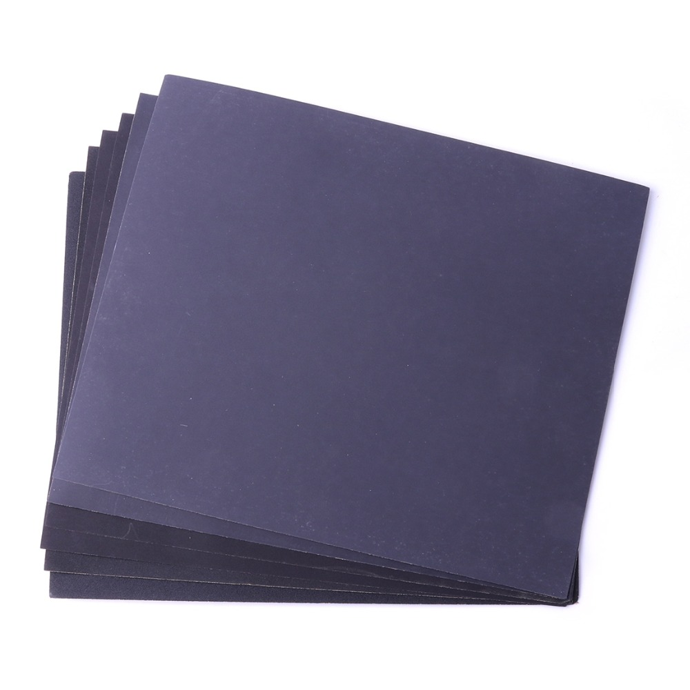 2Pcs Grit 280/400/1000/1500/2000 Wet And Dry Sandpaper Polishing Abrasive Waterproof Paper Sheets Silicon Carbide 230*280mm