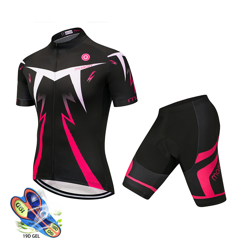 2019 Merida Cycling Jersey Set Girls Cycling Clothing Sky Cycling Maillot Ropa Ciclismo Fietskleding Wielrennen Zomer Heren Sets