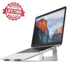 """Алюминиевый держатель для ноутбука охлаждающая подставка для MacBook Air Pro 13 Pro настольная док-станция кронштейн для дома/офиса 11-1"""" ноутбук"""