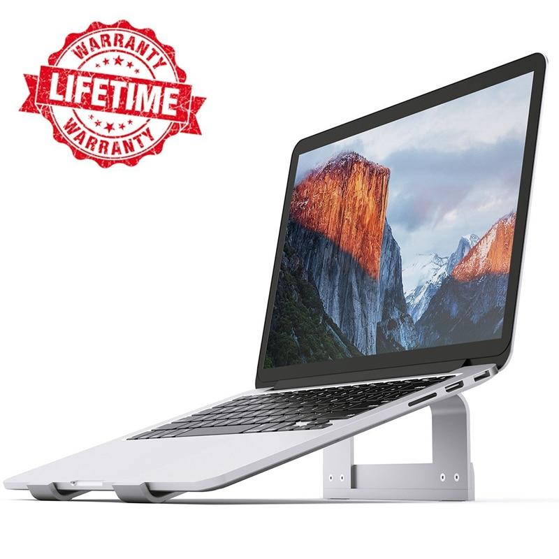 """Алюминиевый держатель подставки для ноутбука охлаждающая подставка для MacBook Air Pro 13 Pro настольная док-станция кронштейн для дома/офиса 11-17 """"ноутбук"""