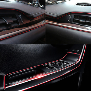 Image 5 - 5M Car Styling Accessori Interni Striscia Sticker Per Renault Megane 2 3 Duster Logan Clio 4 3 Laguna 2 sandero Scenic 2 Captur