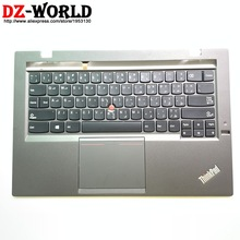 Backlit-Keyboard Carbon Thinkpad Lenovo Palmrest Teclado Arabic with Touchpad for X1