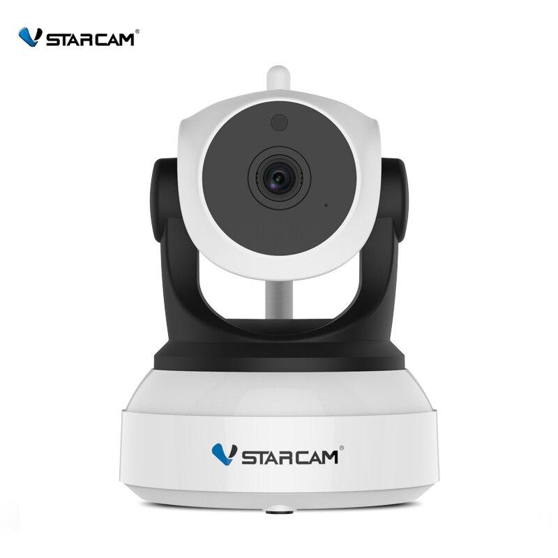 VStarcam inalámbrica de seguridad IP Cámara Wifi ir-cut visión nocturna de grabación de Audio vigilancia Red de Monitor de bebé interior C7824WIP