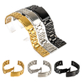 Luxury Brand Watch Accessories Watch Band 18mm 20mm 22mm 24mm Stainless Steel Strap Steel Buckle Wrist WatchBand
