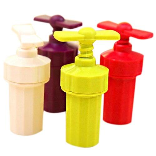 Hot Kitchen Helper Handle Garlic Ginger Shredder Cutter Chopper Presser Tools Random Color