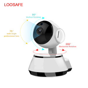 Image 3 - Câmera de vigilância residencial, ip sem fio barata wi fi gravação de áudio ir cut visão noturna hd mini cctv câmera fotográfica para câmera