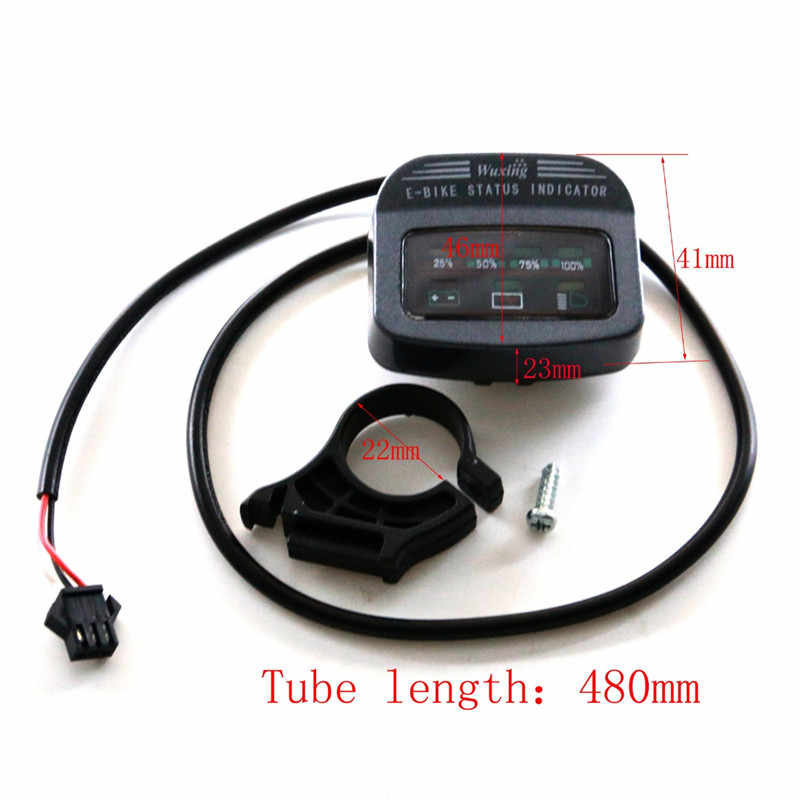 TDPRO 48V Battery Gauge Indicator Charging Coulombmeter For ATV Go Kart Quad Pitbike Electric E-Bike