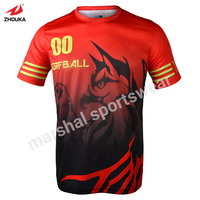 Import Sportswear China Jersey T Shirt Custom Print