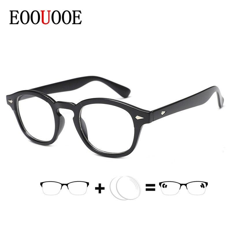 Men Women Brand Retro Round Design Glasses Frame Oculos De Grau Myopia Prescription Lens With Glasses Gafas Eyewear Optical