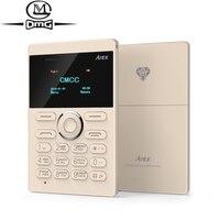 Rus klavye mini kart cep Telefonu Orijinal AIEK E1 Tek sim kart Yedekleme telefonlar PK aiek M5