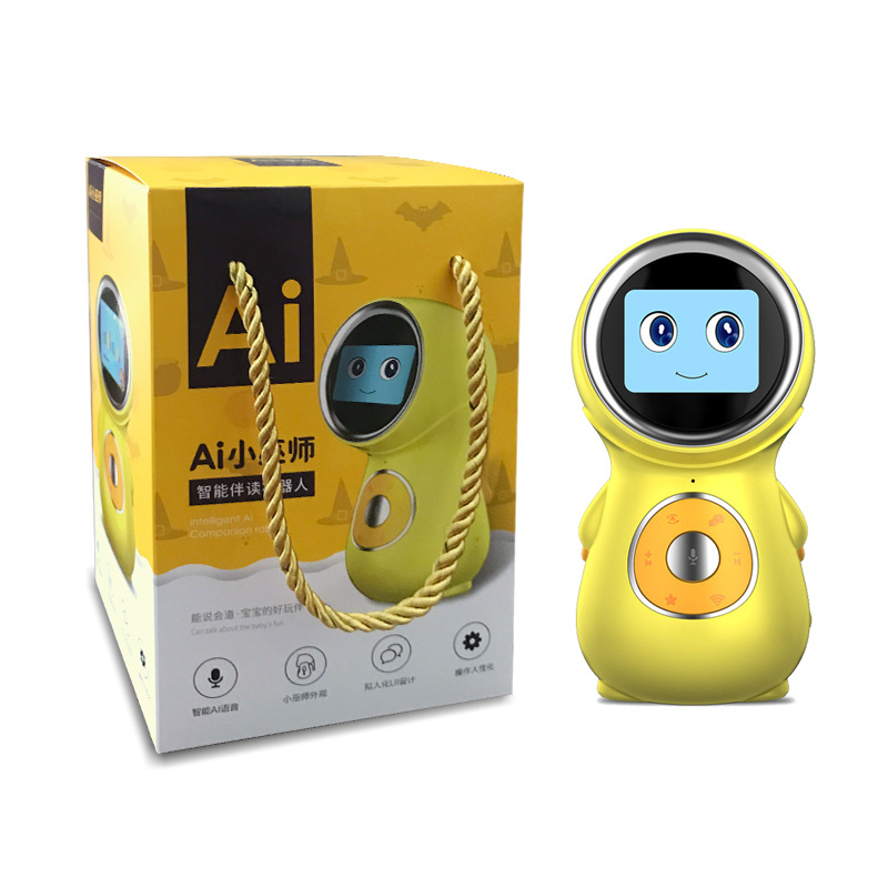 Toy Robot Intelligent-Robot Screen-Display Learning Voice-Wake Dialogue Early-Education