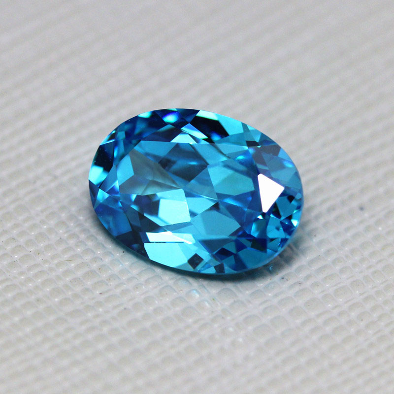 Aquamarine Blue 100/% Natural Untreated Oval  shape Cut  Stone Amazing Blue Fine Cut Faceted stone From Brazil