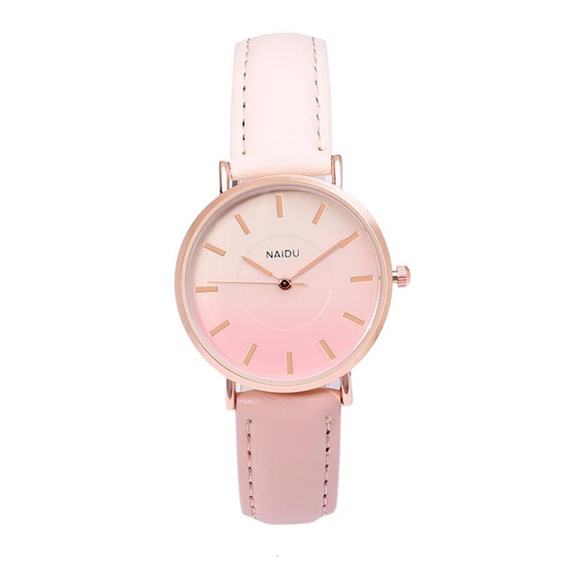 2018 Women Watches bracelet watch ladies Ordinary Glass Mirror Alloy Quartz Watc
