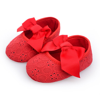 Spring Girl Baby Shoes Soft Sole Cotton First Walkers Fashion Baby Girl Shoes Butterfly-knot First Sole Kids Shoes conjuntos casuales para niñas