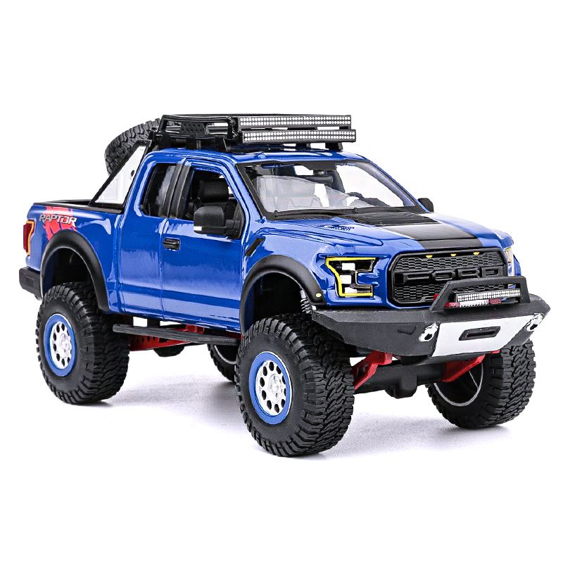 1:24 Maisto Ford Raptor F150 pickup car models car models collection ornaments gifts children's car toys maisto машинка инерционная sandman ford f 150 xl