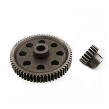 11184 differential main gear 64T/ 11181 motor gear 21T for RC HSP 1 : 10th car truck все цены