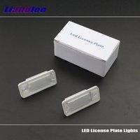 Liandlee For Audi Q7 / Q7 TDI 2007~2009 / LED Car License Plate Lights / Number Frame Light / High Quality LED Lamp