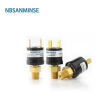 SMF08V 1/8 1/4 Small Vacuum Pressure Switch Designed Automatic Reset Switch Used In Vacuum Environment High Quality NBSANMINSE стоимость