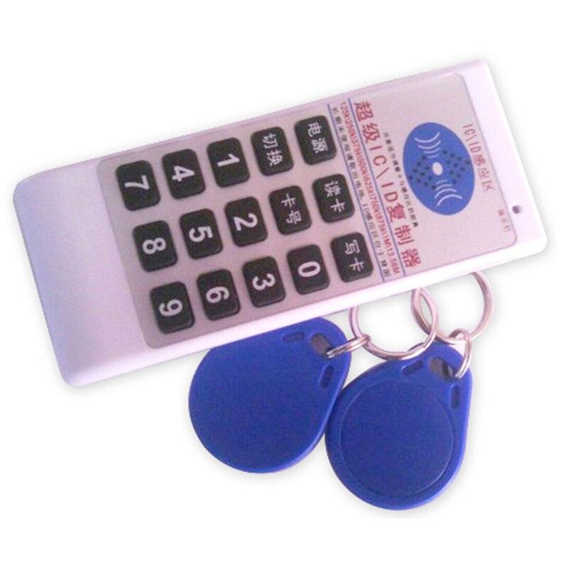 Ручной 125 кГц-13,56 мГц частоты RFID Копир ID IC Писатель копия программист читатель Поддержка EM4305/5200 /8800/T5577 ...