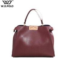 Classic Women Split Leather Handbags Trendy Ladies Messenger
