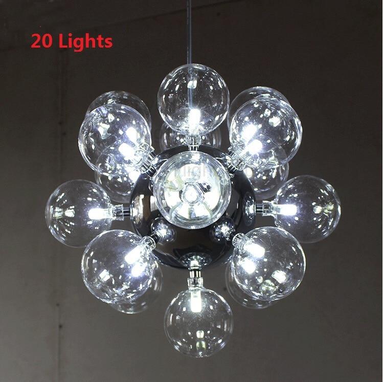 20/60 leuchtet Moderne Glas Pendelleuchten Design Achille Castiglioni Esszimmer Küche Lampe Leuchten LED G4 Lamparas Colgantes - 2