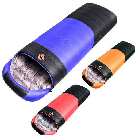 210 80cm 1 5kg 1 7kg Ultralight Camping Sleeping Bag Envelope White Duck Down Sleeping Bag