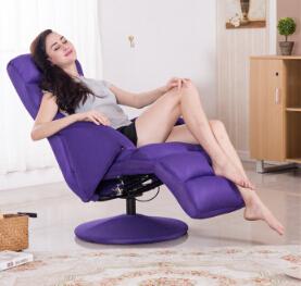Piękno paznokci krzesło Leniwy krzesło obrotowe szezlong tanie i dobre opinie Meble do salonu Meble do domu Nowoczesne Tkaniny
