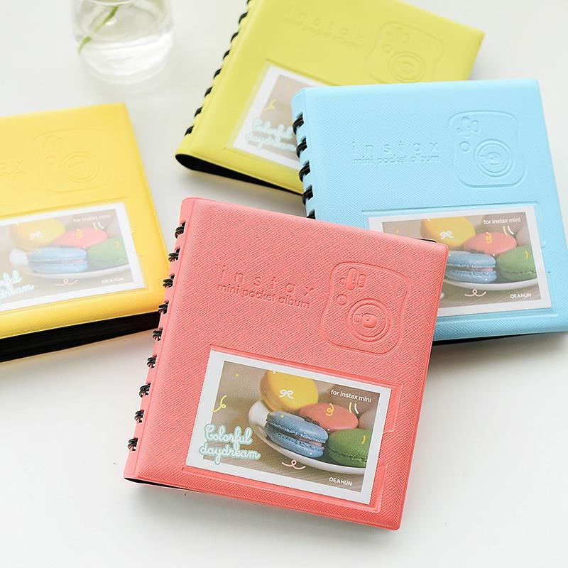 68Pockets Mini Instant Polaroid Photo Album Picture Case Fujifilm Instax Film 7s 8 25 50s 90 instax mini album - LUOSB Store store