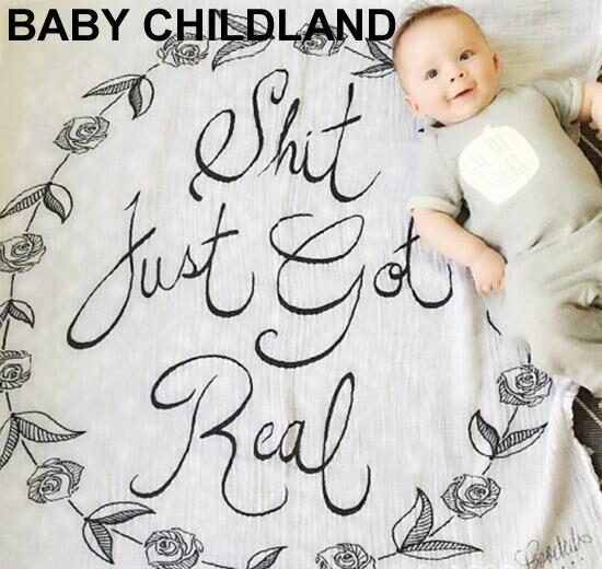 120cm Baby blankets newborn swaddle wrap muslin baby Receiving Blanket 100%cotton breathable&comfortable baby blanket wieg deken