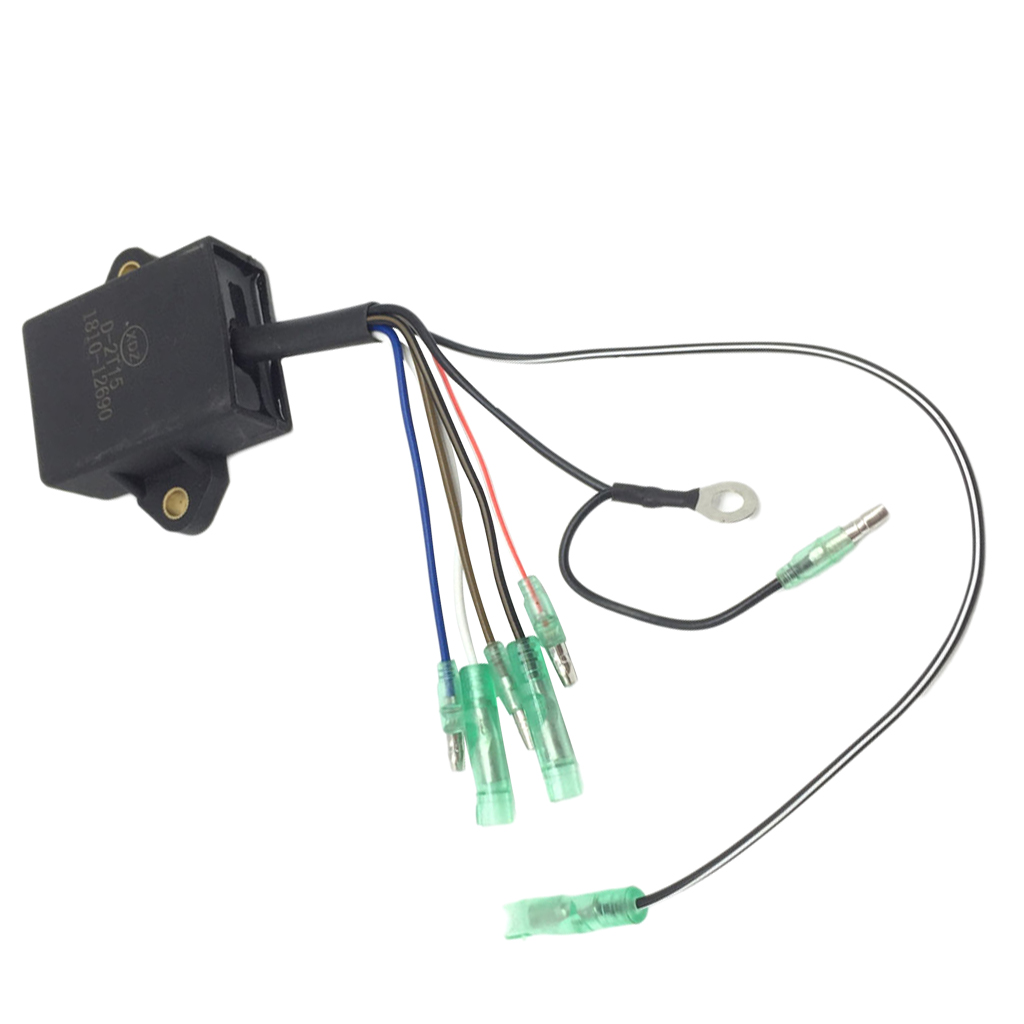 Ignition Coil Module Power Unit For Yamaha 2-Stroke 9.9/15HP Outboard Motor High Performance CDI Box
