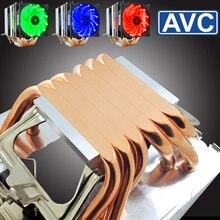 4pin intelligent temperature control 6 heat pipe I7 130W CPU cooler ultra quiet X79 X58 desktop