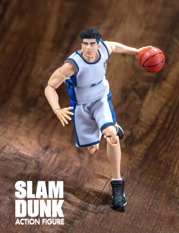 GREAT TOYS Dasin Ryonan Kicchou Fukuda pvc action figure SLAM DUNK GT model toy brinquedos NO